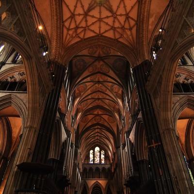 ソールズベリ大聖堂の写真
