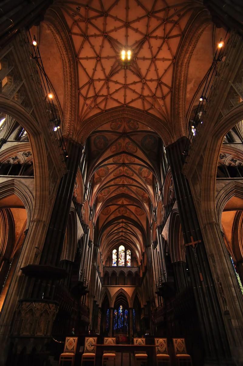 「ソールズベリ大聖堂」の写真