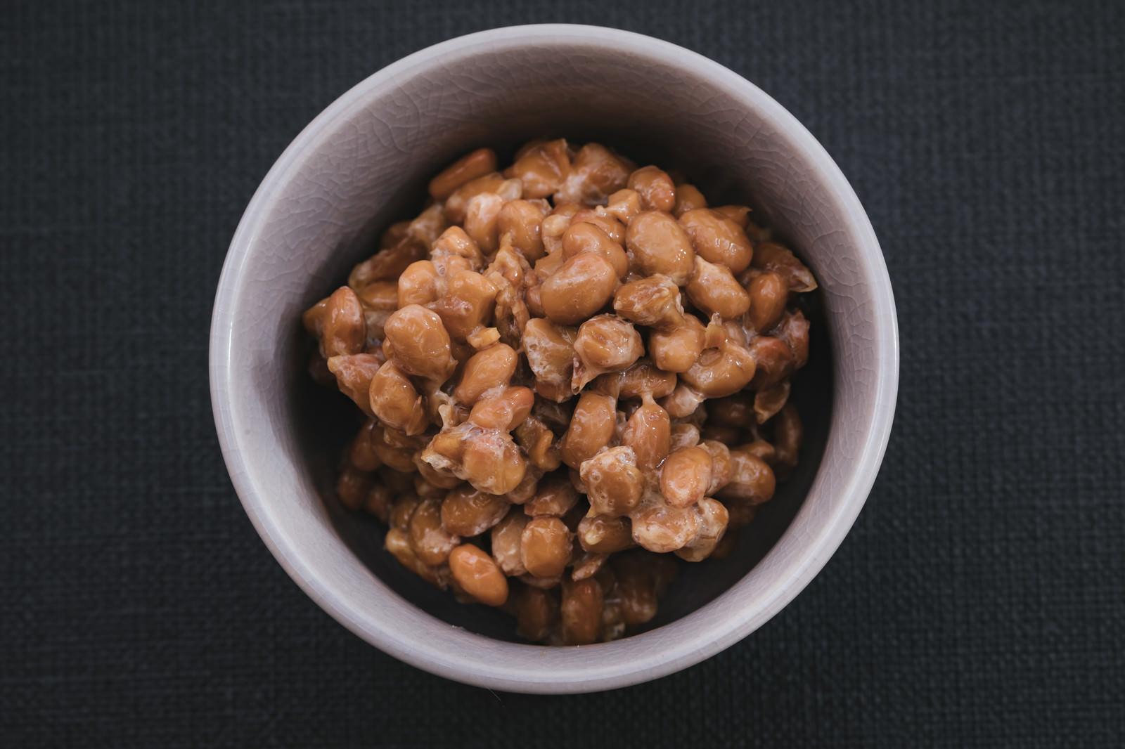 「朝食納豆朝食納豆」のフリー写真素材を拡大