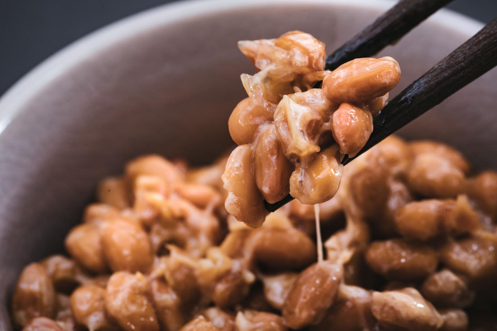 「納豆はかき混ぜないで食べる派納豆はかき混ぜないで食べる派」のフリー写真素材を拡大