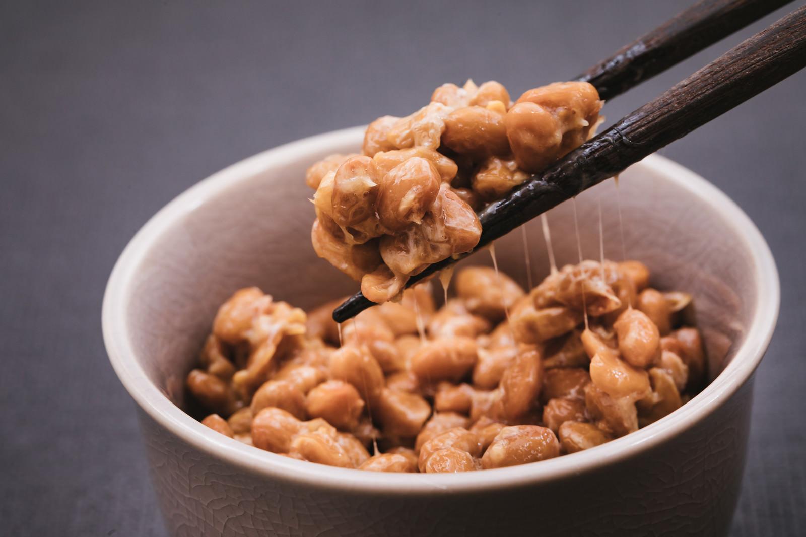 「日本の伝統食「納豆」」の写真