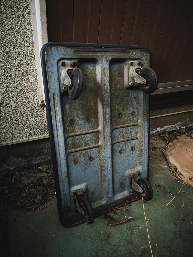 「錆びた台車」の写真