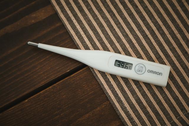 仮病に使える体温計の写真