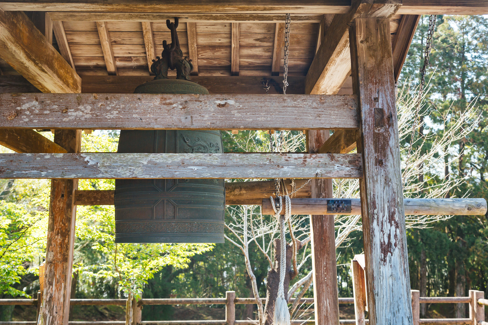 「飫肥城内の釣り鐘」の写真