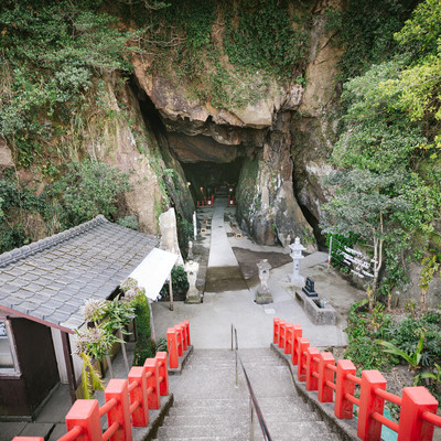 「独特の雰囲気を醸し出す祇園神社(日南市)」の写真素材