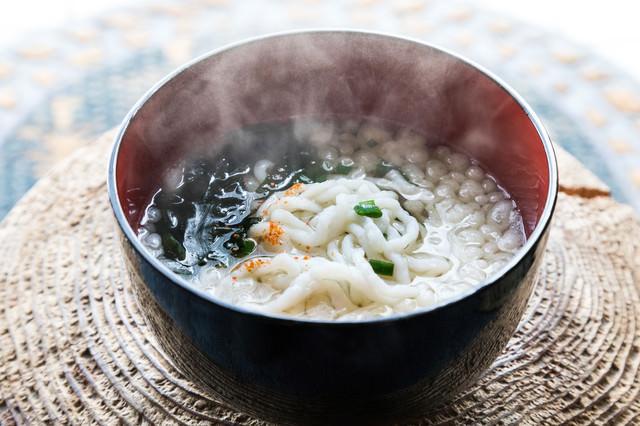 人気沸騰の郷土料理「魚うどん」