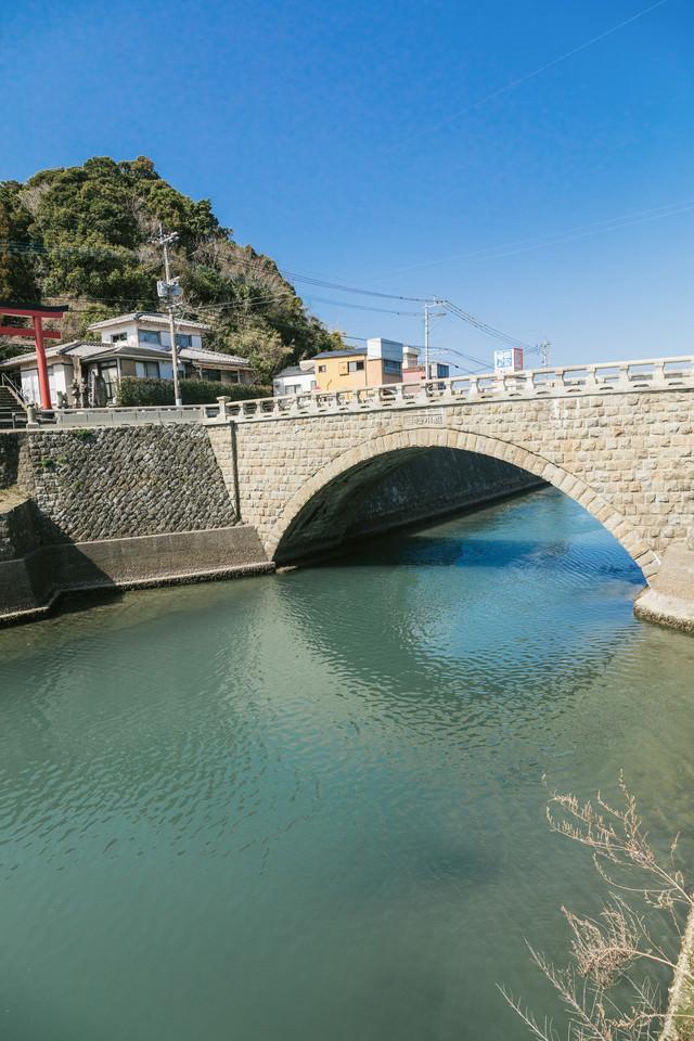 「日本三大運河にかかる堀川橋」のフリー写真素材