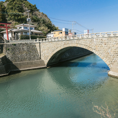 「日本三大運河にかかる堀川橋」の写真素材