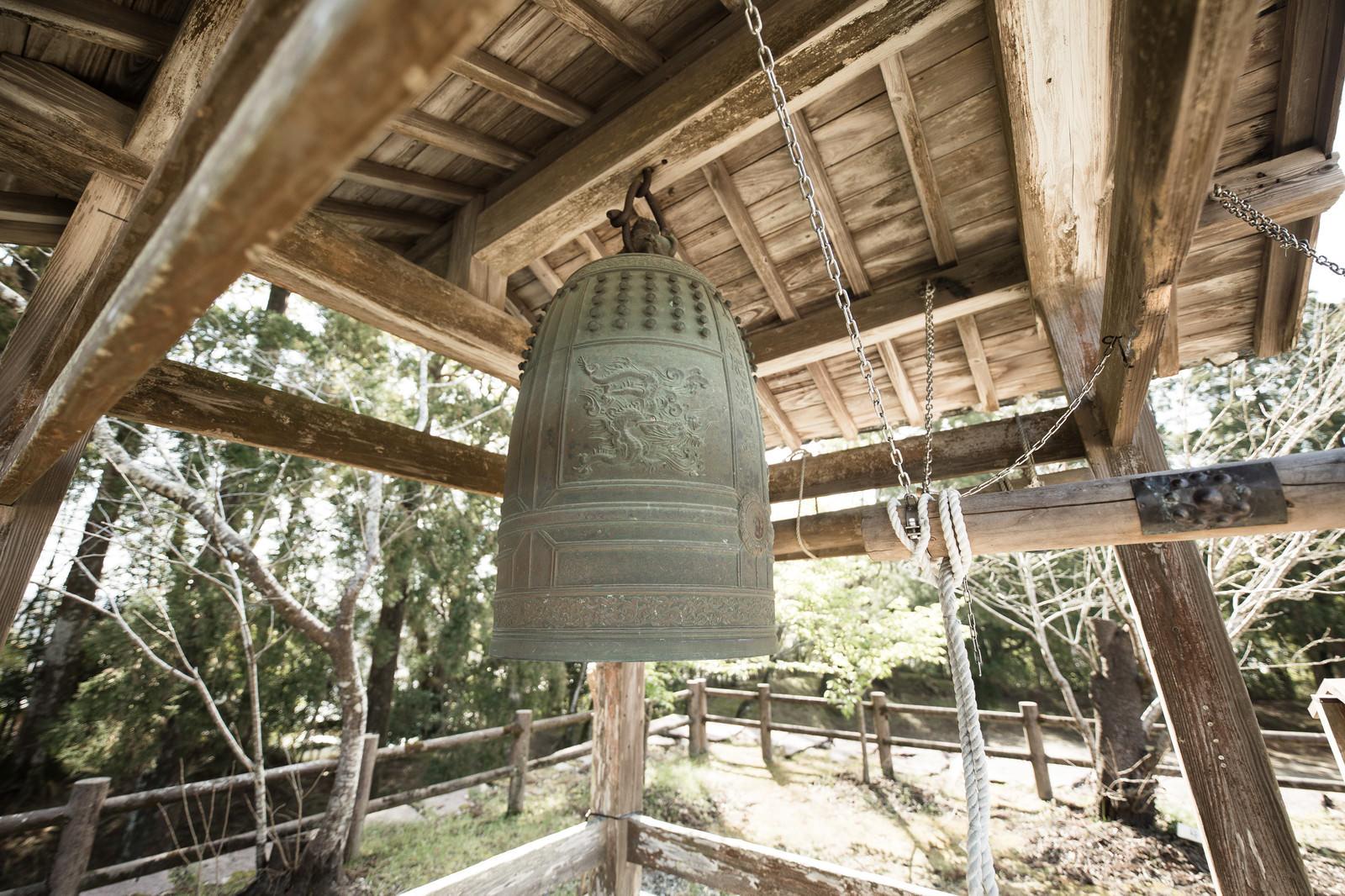 「飫肥城跡の鐘」の写真