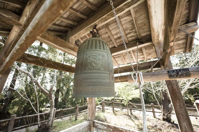 飫肥城跡の鐘の写真