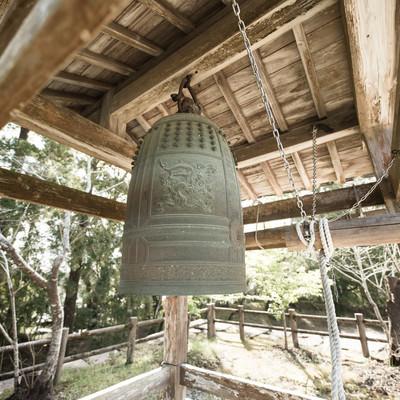 「飫肥城跡の鐘」の写真素材