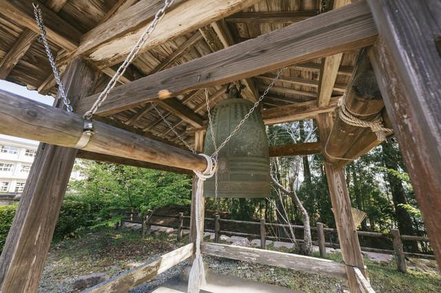 飫肥城の鐘の写真