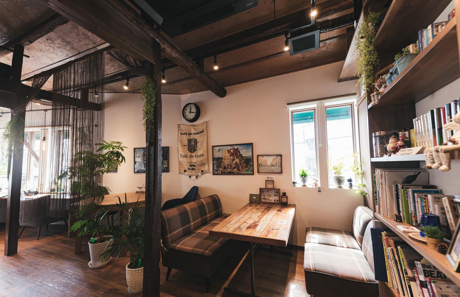 「静かな穴場的カフェ」の写真