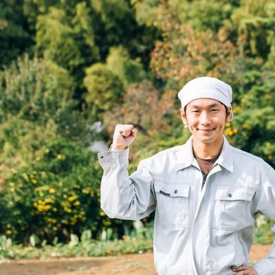 「日本の農家を応援しています!」の写真素材