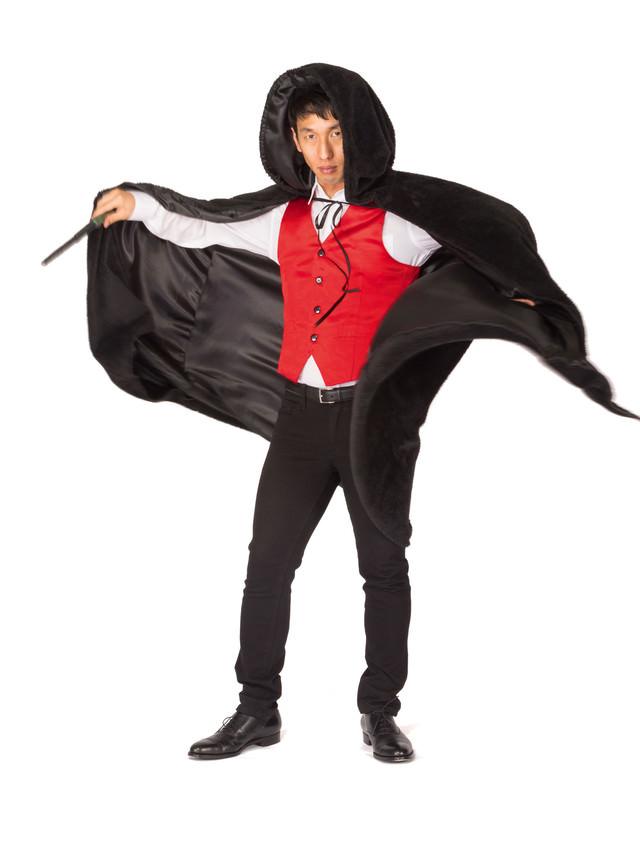 魔法使いになりきるマン(コスプレ)の写真