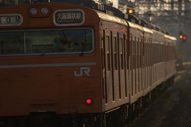 48年の歴史に終止符が打たれた大阪環状線103系の写真