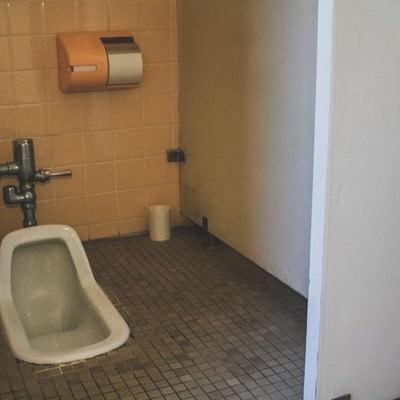 「不気味な和式トイレ」の写真素材