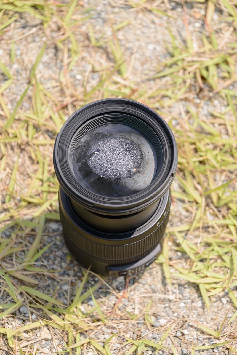 「ズームレンズ水没後 | 写真の無料素材・フリー素材 - ぱくたそ」の写真