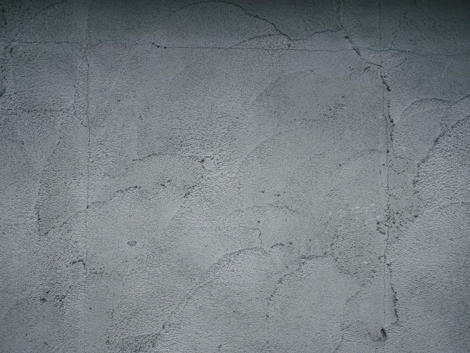「左官仕上げ模様のコンクリート壁(テクスチャ)」の写真