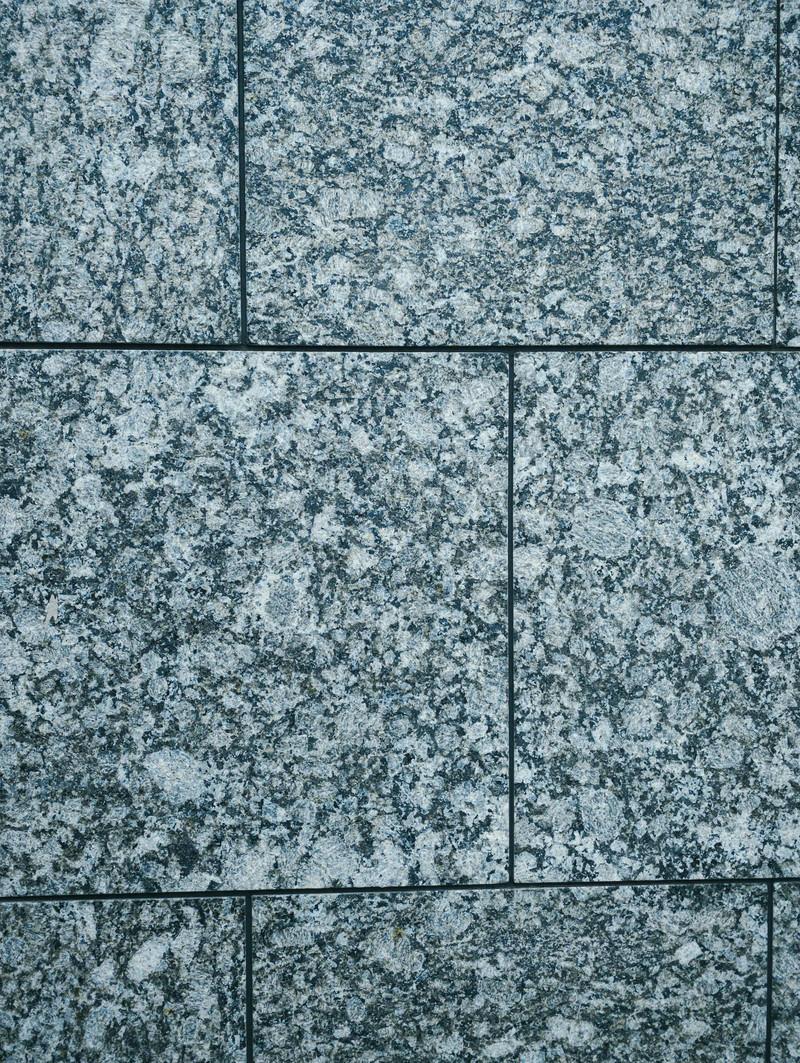 「大理石模様のブロック壁(テクスチャ)」の写真