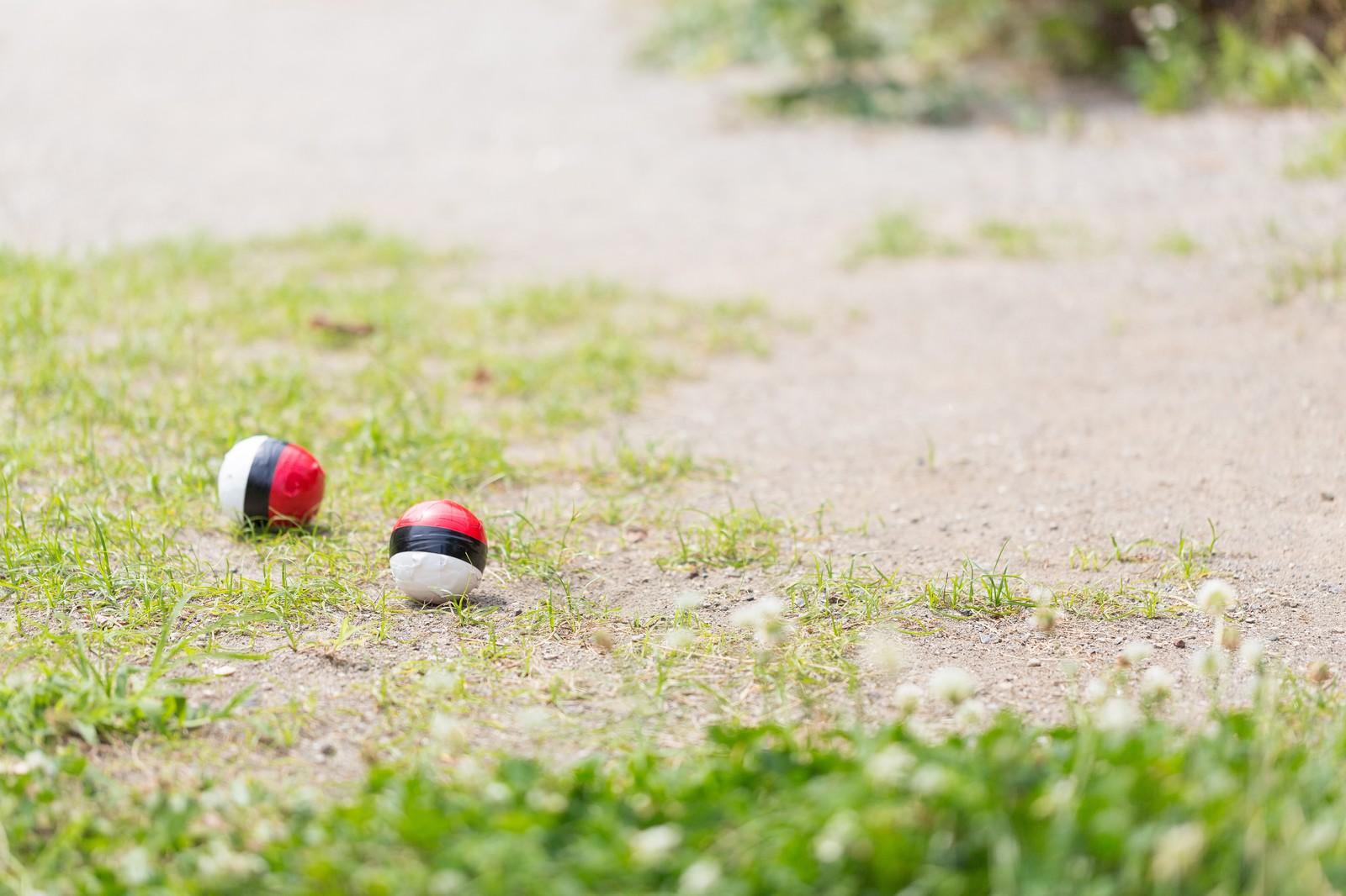 「まだユーザーも少ない紅白ボール」の写真