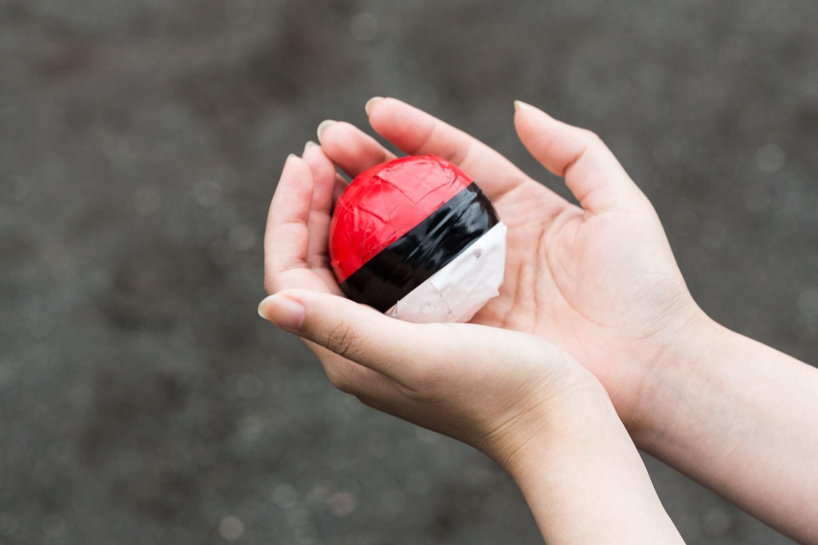 「ルールとマナーを守って楽しく紅白ボールをプレイしよう」の写真