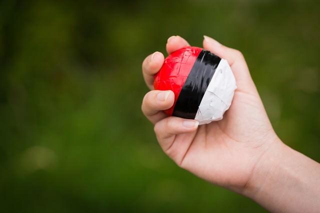 まだまだ紅白ボールを握りしめる毎日の写真