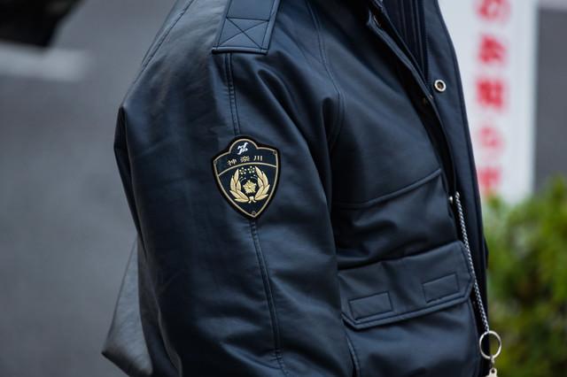 神奈川県警のお巡りさんの写真