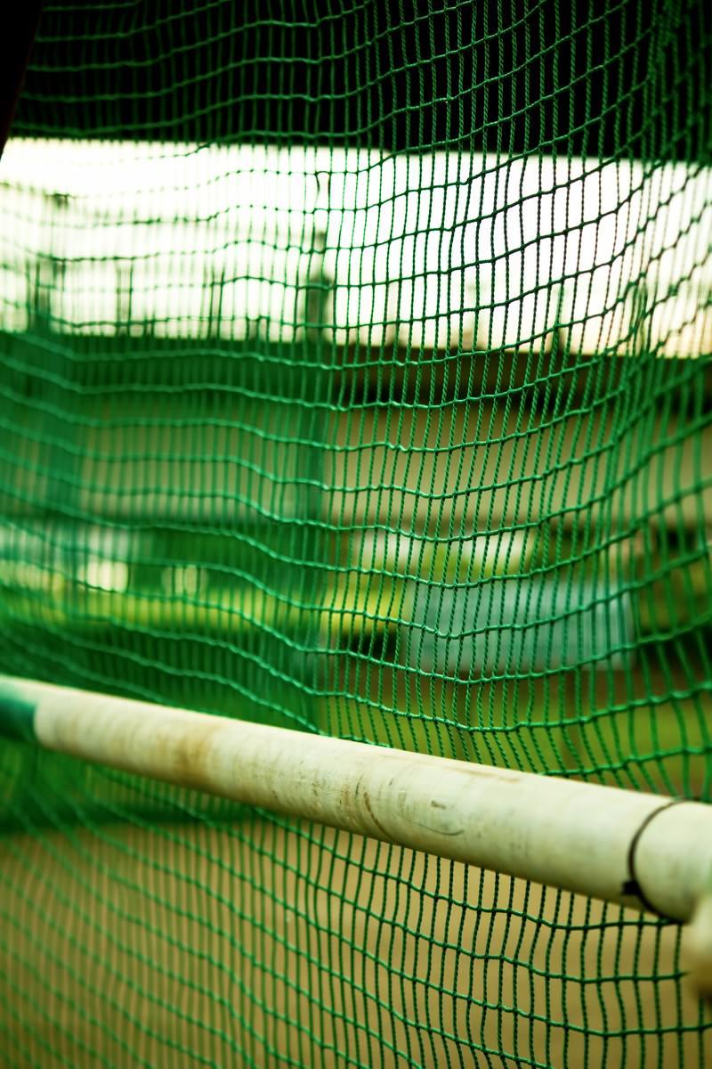 「グランドのネット裏 | 写真の無料素材・フリー素材 - ぱくたそ」の写真