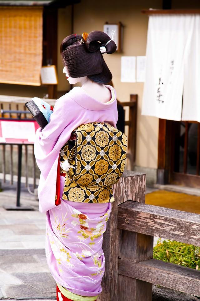 京都の芸者さんの写真