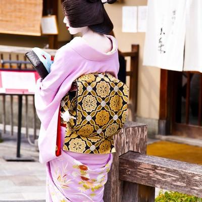 「京都の芸者さん」の写真素材