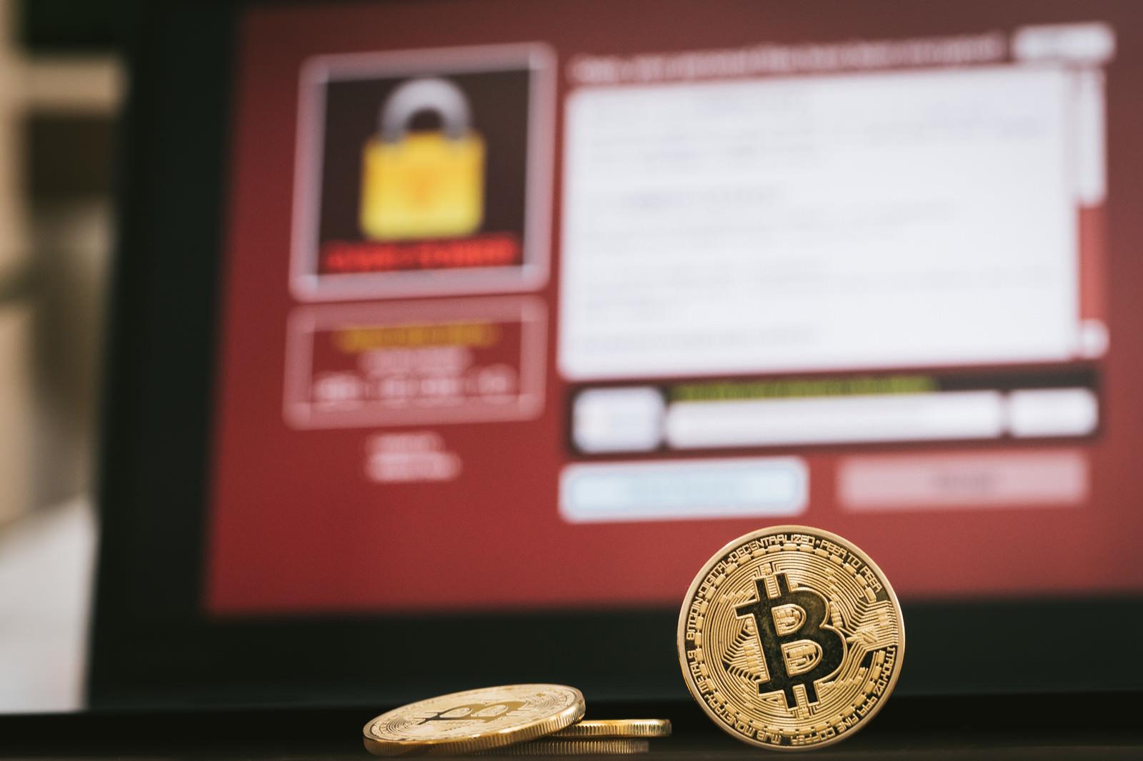 「ランサムウェアでBitcoinを要求ランサムウェアでBitcoinを要求」のフリー写真素材を拡大