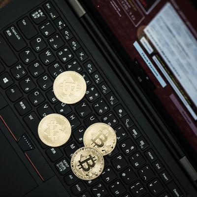 「身代金の支払にBitcoinを利用する犯罪」の写真素材