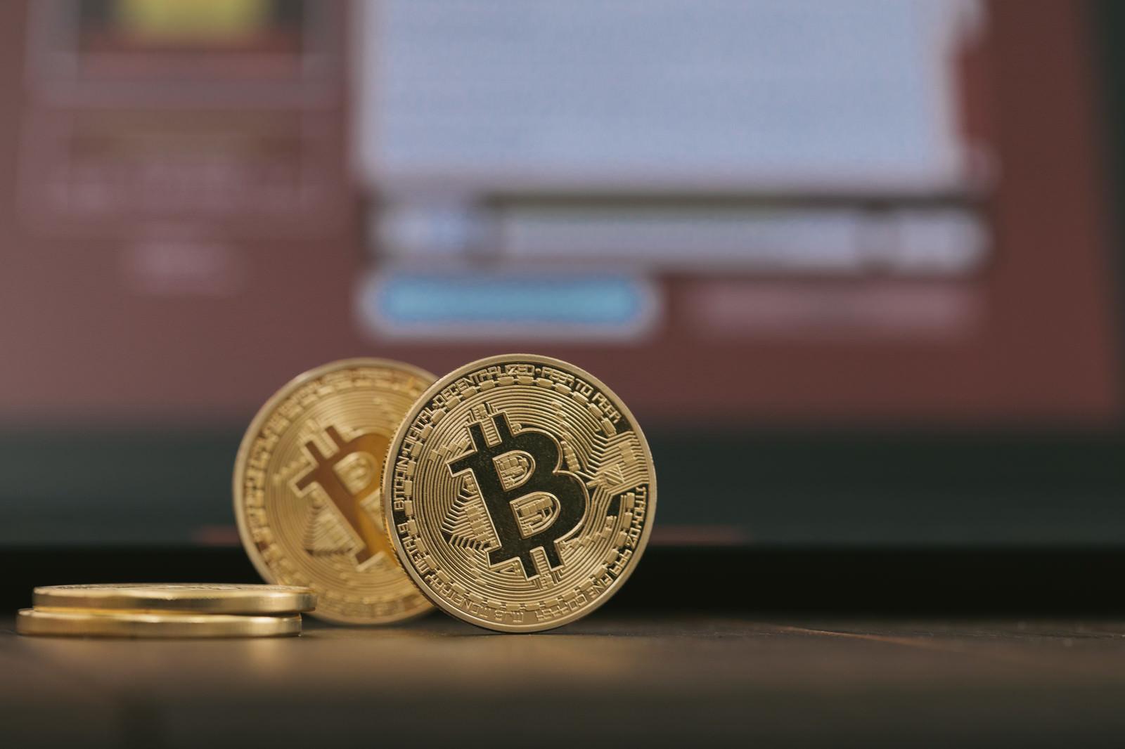 ランサムウェアとビットコインのフリー素材