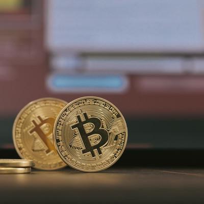 「ランサムウェアとビットコイン」の写真素材