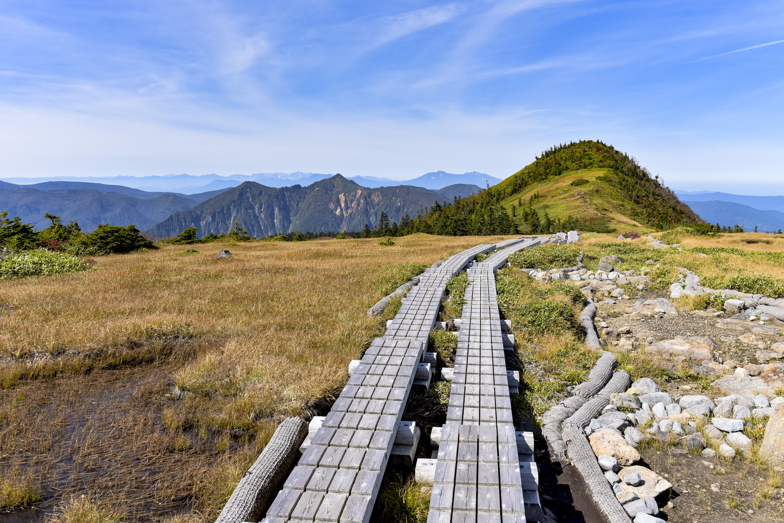 「苗場山檜ノ塔へと向かう道」の写真