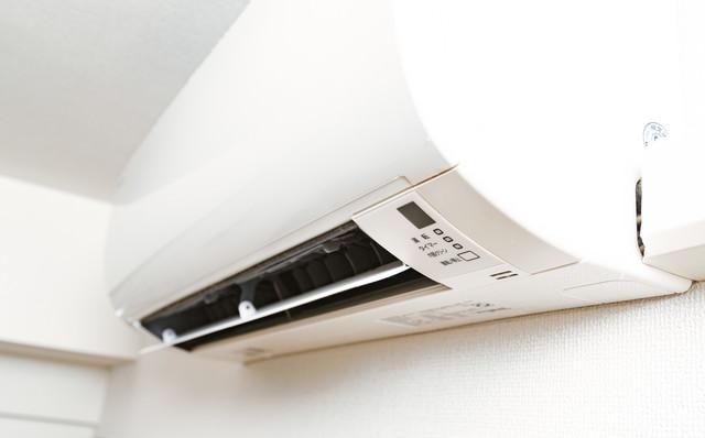 家庭用のエアコンの写真