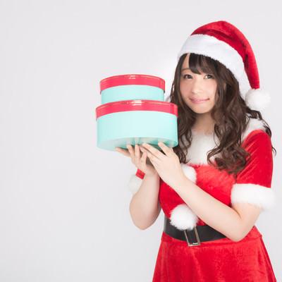 クリスマスのプレゼントお持ちしましたの写真