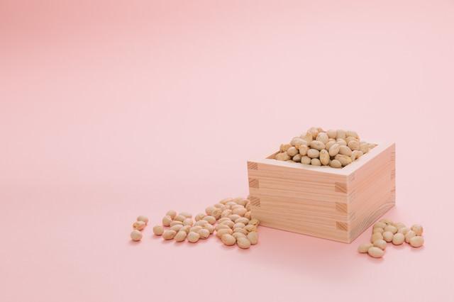 節分用の大豆の写真