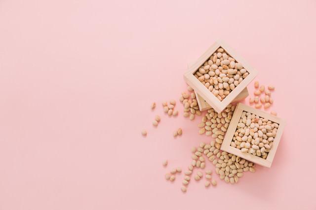 節分用の豆の写真