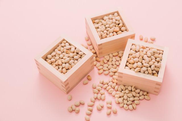 節分の日(立春)の豆まきの写真