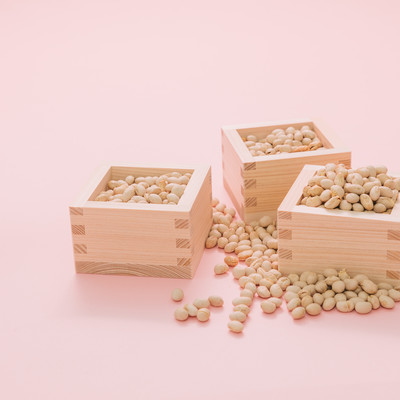 「節分福豆」の写真素材