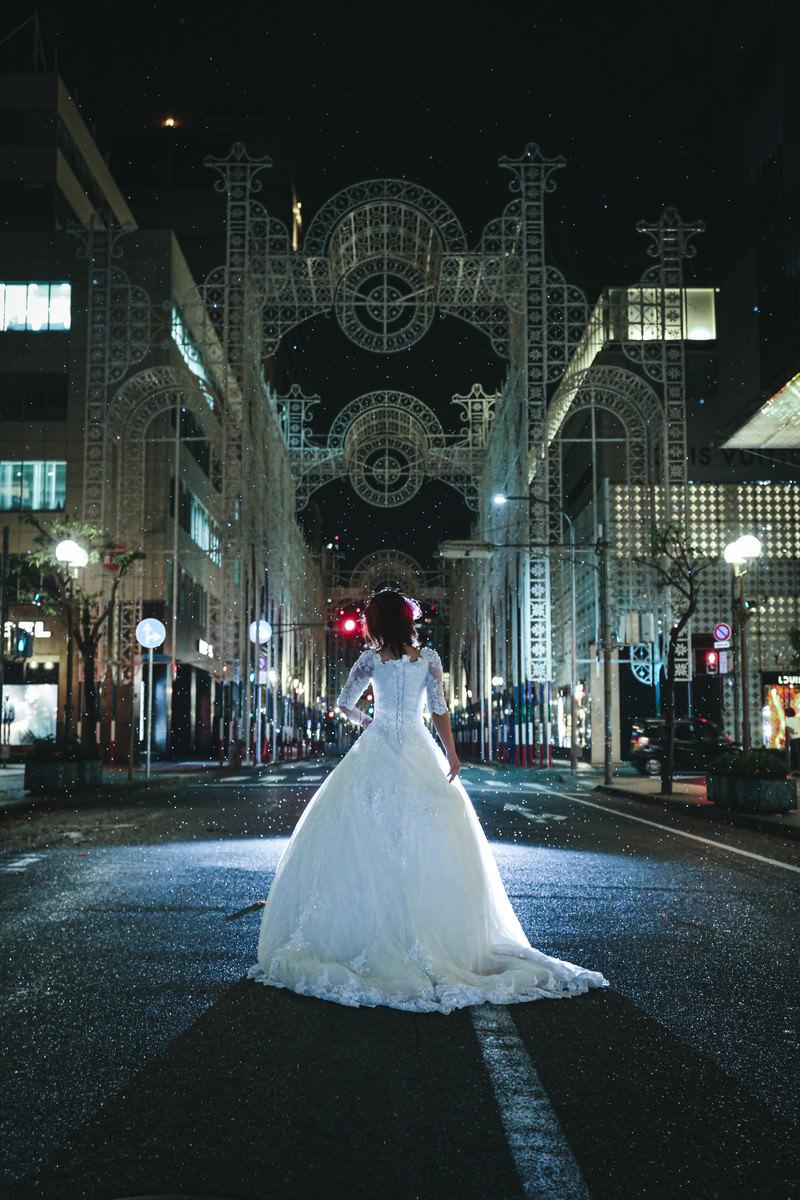 「鎮魂の神戸ルミナリエ(25年目の神戸淡路大震災の追悼と復興)」の写真