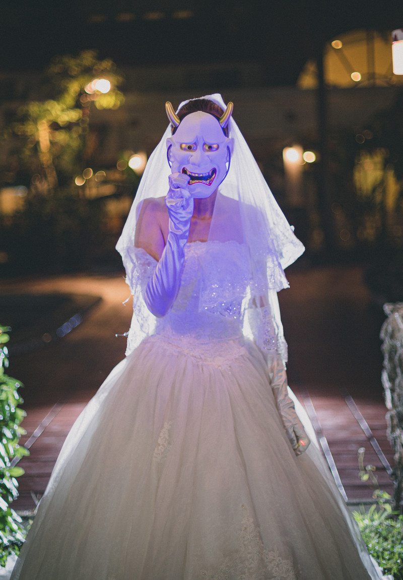 「鬼嫁の結婚式」の写真