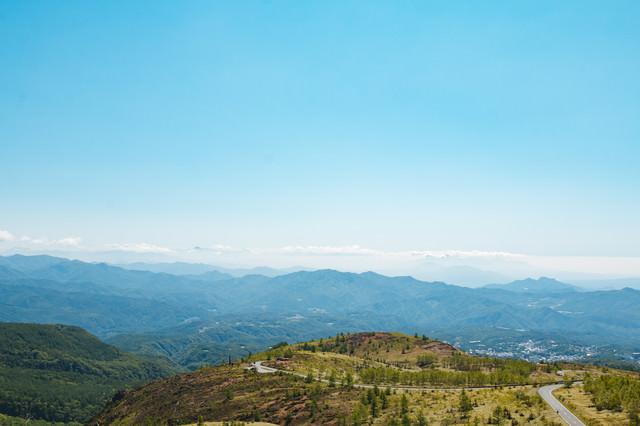 白根山からの景観の写真