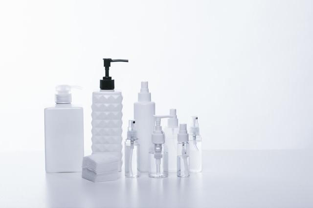 化粧水の詰替えボトルの写真