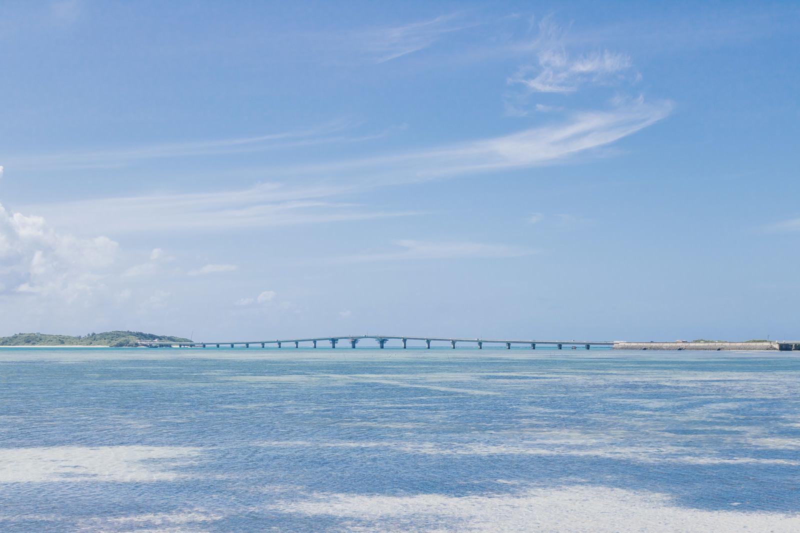 「池間大橋(宮古島)池間大橋(宮古島)」のフリー写真素材を拡大