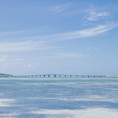 「池間大橋(宮古島)」の写真素材