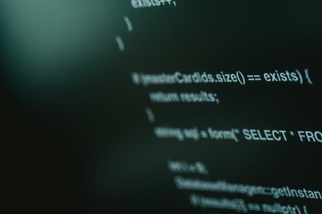 C++で書かれたっぽいソースコードの写真