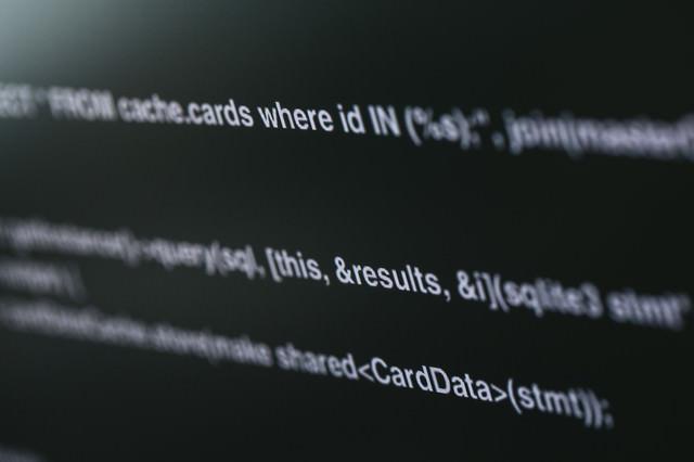 オープンソースコードの写真